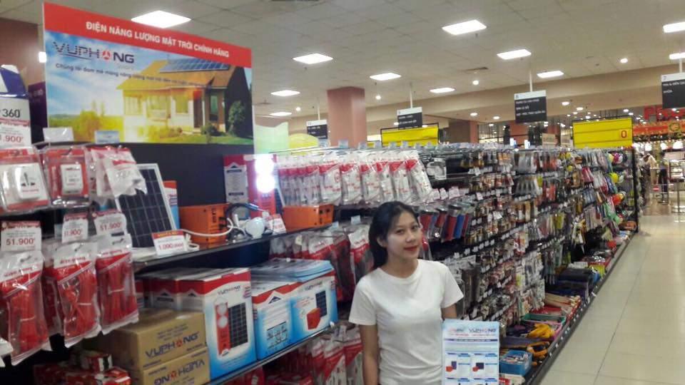 Sản Phẩm SolarV Vũ Phong lên kệ tại siêu thị AEON