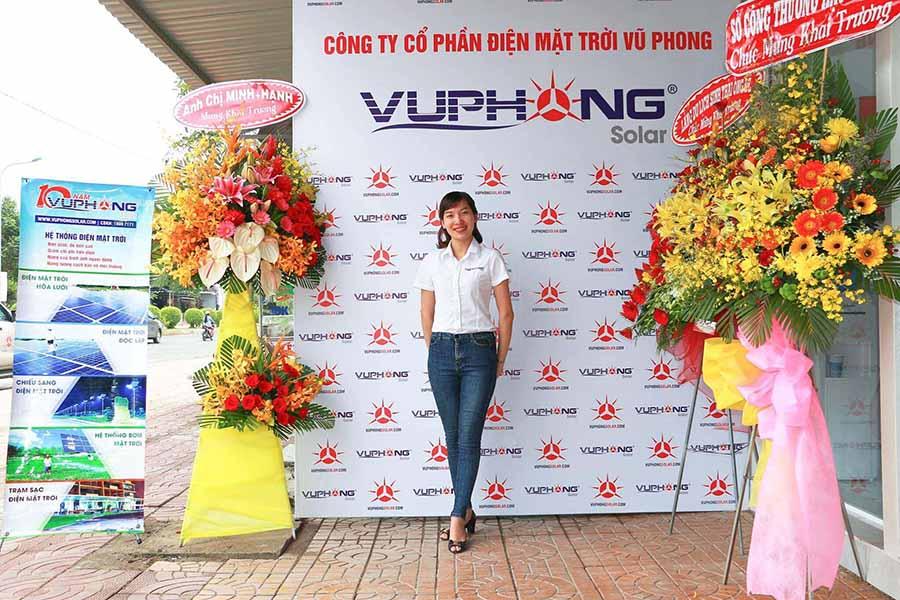 Hình Ảnh Khai Trương Chi Nhánh Văn Phòng Vũ Phong Solar Tại Cần Thơ