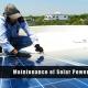 Hường dẫn bảo trì và vận hành điện mặt trời