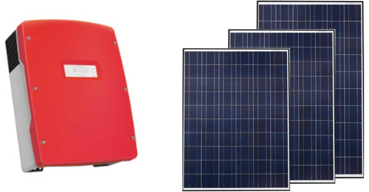 Sản phẩm điện mặt trời