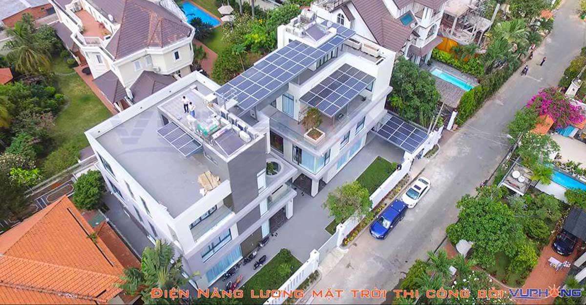 Việc lắp đặt điện mặt trời đảm bảo kỹ thuật sẽ mang lại an toàn cho người sử dụng