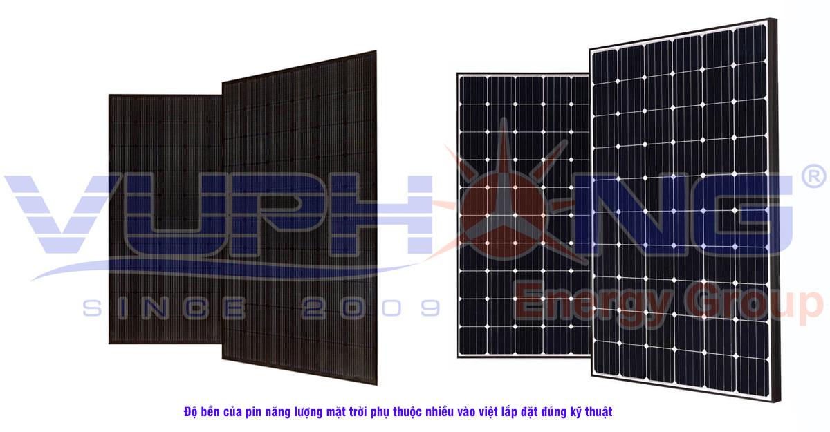 Độ bền của pin năng lượng mặt trời