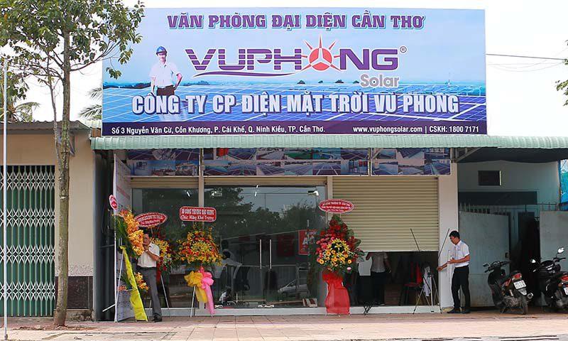 Văn phòng đại diện của Vũ Phong Solar tại Cần Thơ