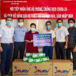 Chia sẻ của Vũ Phong trong hoạt động chống đại dịch Covid 19