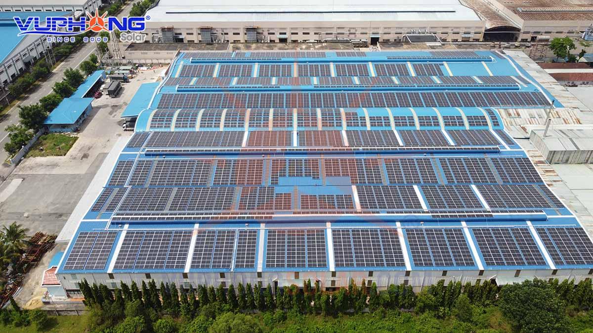 lắp đặt điện mặt trời