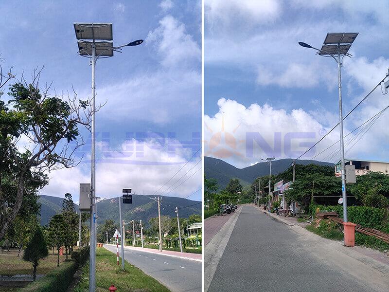Trụ Đèn đường năng lượng mặt trời