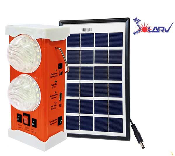 Đèn xách tay năng lượng mặt trời thương hiệu SolarV