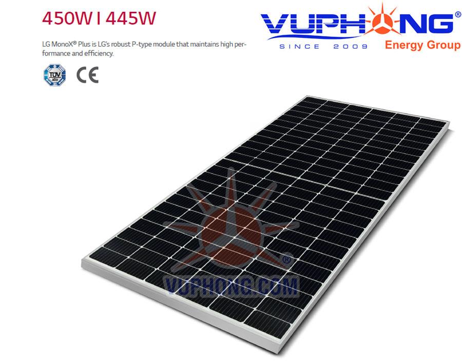 Pin năng lượng mặt trời 450W